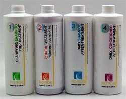 Стартовый набор кератин для бразильского выпрямления волос. PRO-TECHS Keratin. - фото 5766